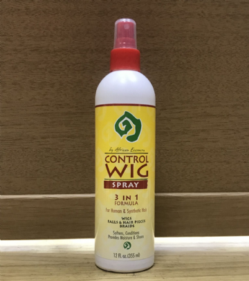 African Essence Control Wig Spray 3-in-1 Formula - 355ml